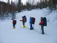 Поход на гору Кокуя, февраль 2009