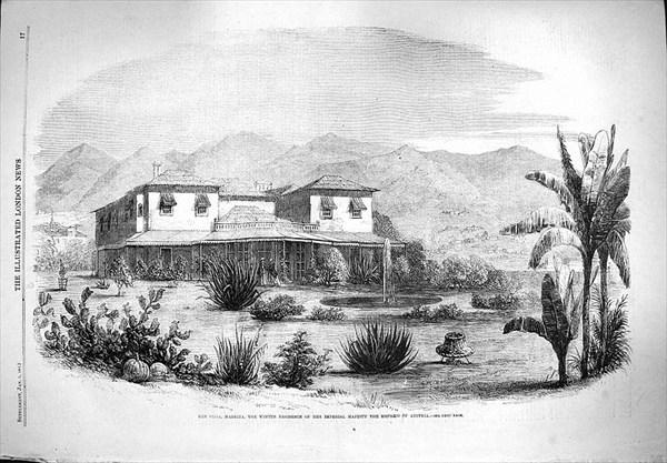 Фуншал, Мадейра. 1861 год