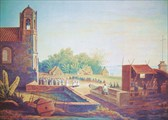 Manila-View_of_Malate_Church_in_1831