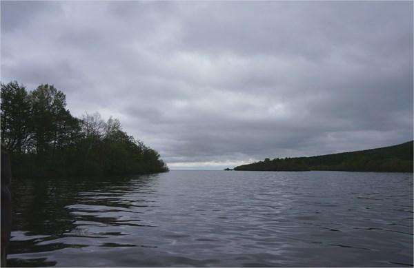 Выход из реки Нале в Амур
