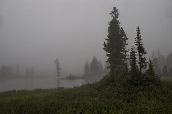Тоджа в тумане