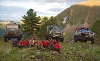 На перевал Соруг (Барун-Тайга). Первая ступень. Ленточки