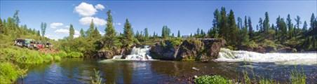 Водопад на р. Соруг