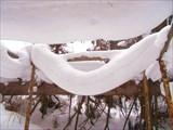 Необычный снежный надув