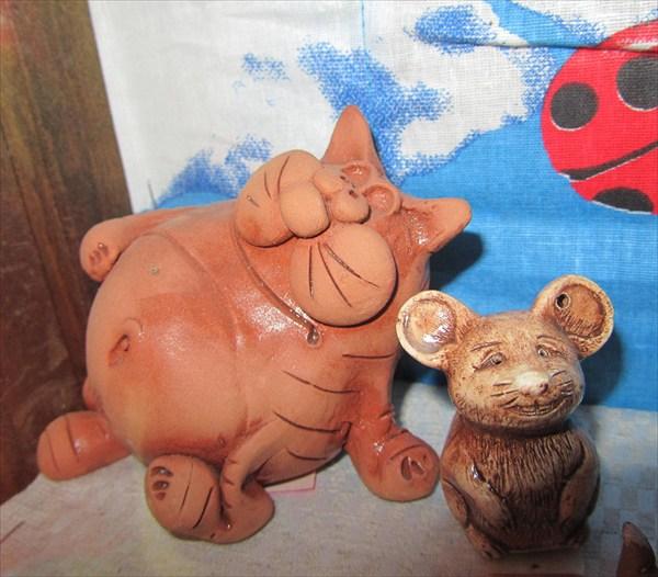 В музее мыши