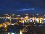 вид на Стамбул с башни Галата