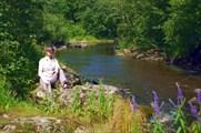 На берегу реки