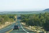 дорога на Гранд каньон