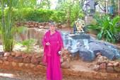 в саду медитаций