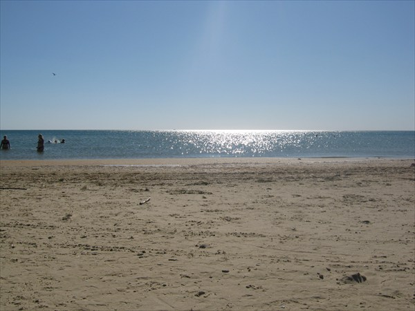 Анапа. Пляж Джемете. сентябрь 2012год