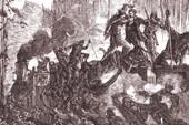 Нападение индейцев