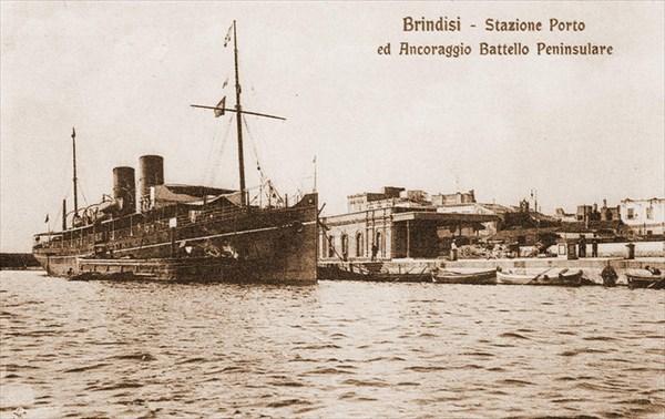 В порту Бриндизи