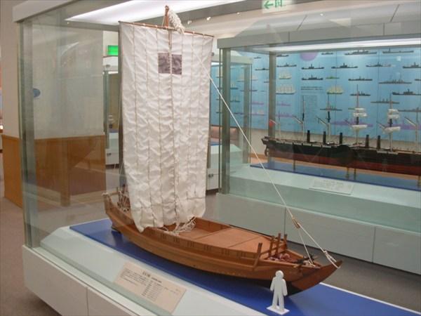 Макет в морском музее