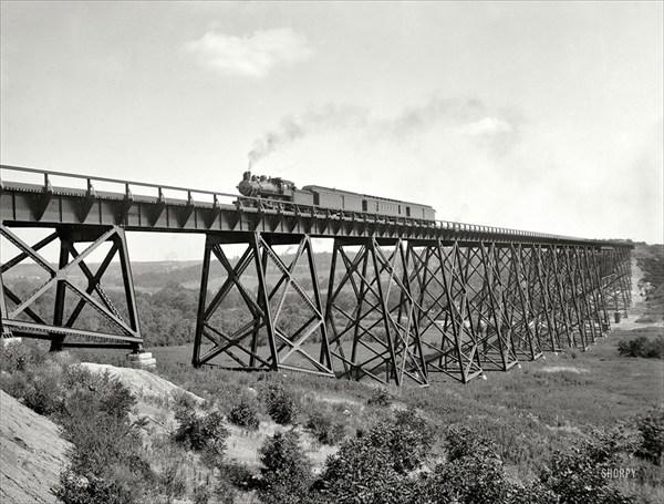 Железнодорожный мост, Детройт