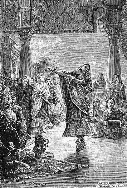 В храме богини Кали