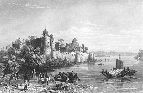 Алахабад 1850е гг.