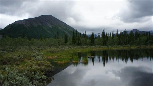 на фото: Озера в Хибинах