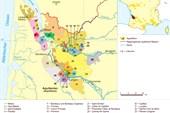 Карта аппеласьонов региона Бордо