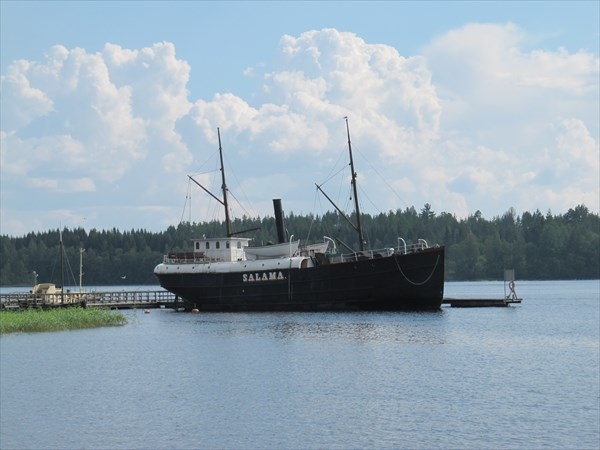 Савонлинна. Музейный пароход Салама