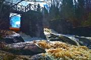Руины ГЭС на р. Бусловка