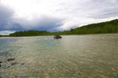 Переправа через реку Куранах