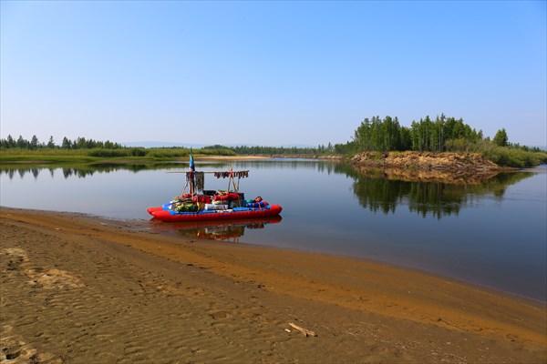 На притоке Сордонг