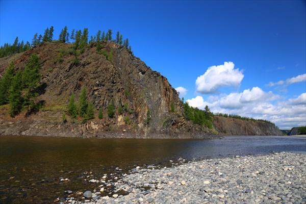 Река Нельгесе устье