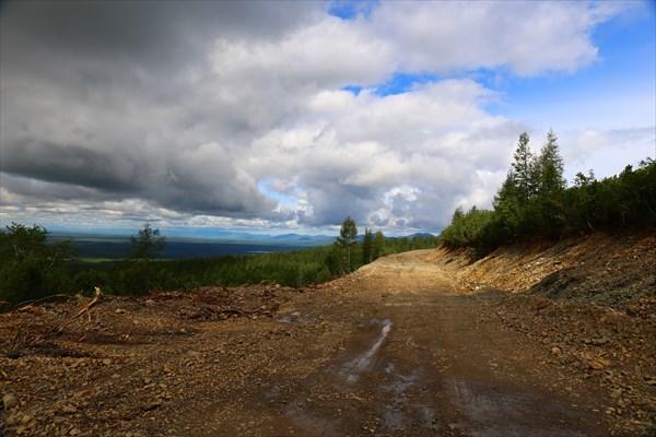 Дорога в село Тополиное