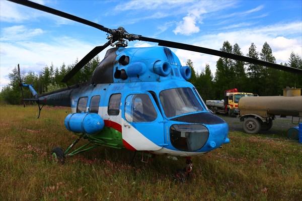 За нами прилетел вертолет