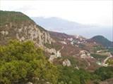 Вид с горы Алима