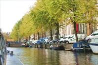 Амстердам с борта кораблика