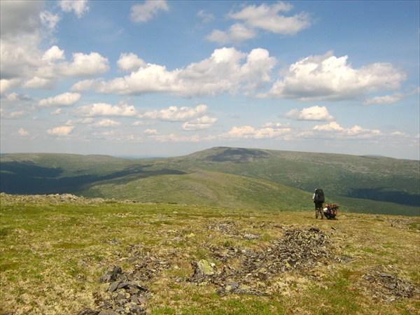 Перевал Сульпа - Маньская-Волосница.