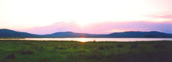 Средний Урал. Озеро Боевское