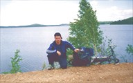 Южный Урал. Озеро Аргази (плотина перед д. Карасево)