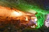 Остров в заливе Халонг - пещера Сунг Шот
