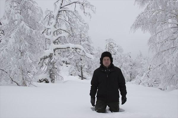 В снегах Южного Урала