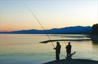 Фото 44. Утренняя рыбалка на реке Кабанья