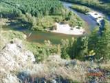 Река извивается как змейка