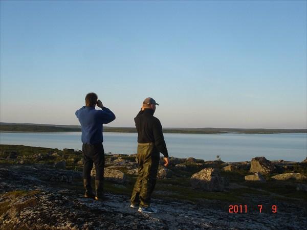 Вид на Корозеро