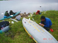 Ремонт на озере Торосмань