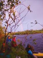 Ночёвка в болотах Харловки