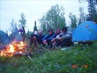 Ночёвка на Васькиной