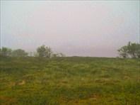 Пачозеро встретило туманом