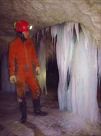 Ледяные сталагнаты