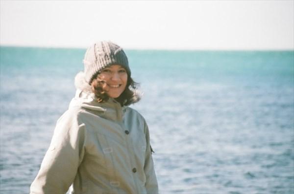 Аня у моря