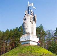 """Ugra-Памятник """"Великому стоянию на реке Угре в 1480 г."""""""