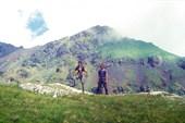 фотка на фоне горы Уруп