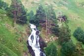 Водопад на Загеданке