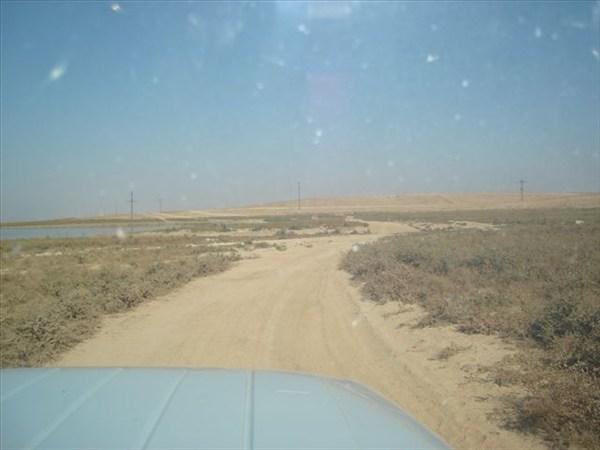 Дорога на Айдаркуль