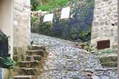 Начало лестницы в крепость св.Иоанна